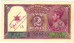 Image : Rupees Two