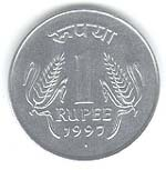One Rupee Coins