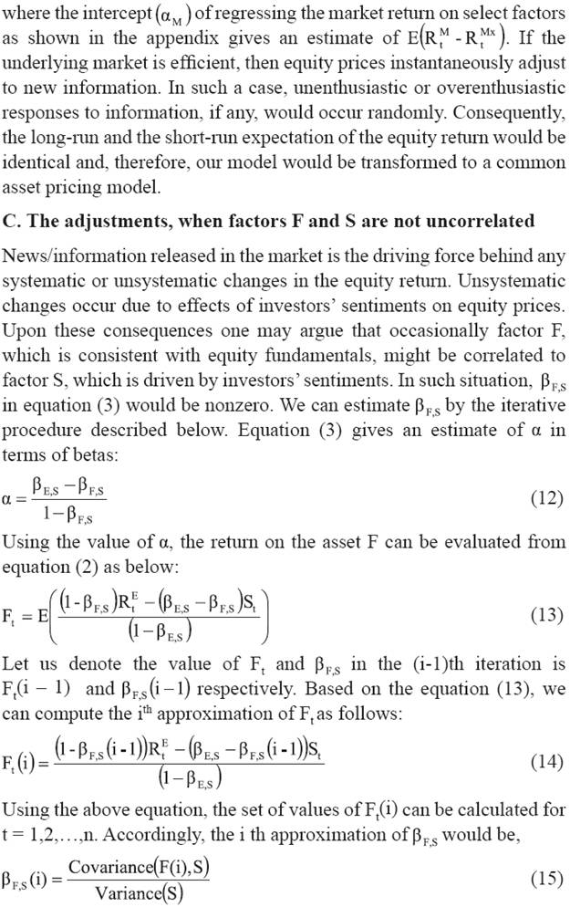 capital asset pricing management of risk dissertation